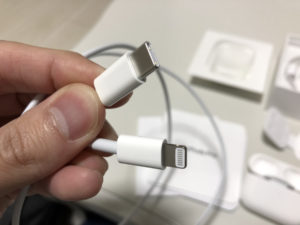 AirPods Proケーブル