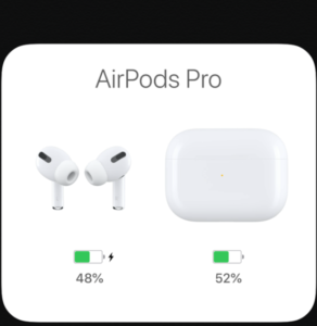 AirPods Pro画面
